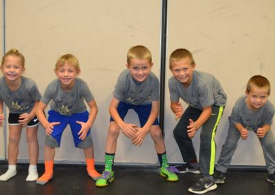 K-2nd youth wrestlers